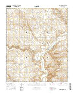 Conejo Creek East New Mexico Current topographic map, 1:24000 scale, 7.5 X 7.5 Minute, Year 2017 from New Mexico Map Store
