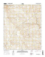 Conejo Creek West New Mexico Current topographic map, 1:24000 scale, 7.5 X 7.5 Minute, Year 2017 from New Mexico Map Store
