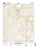 Cooley Lake New Mexico Current topographic map, 1:24000 scale, 7.5 X 7.5 Minute, Year 2017 from New Mexico Map Store