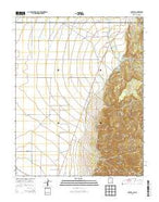 Costilla New Mexico Current topographic map, 1:24000 scale, 7.5 X 7.5 Minute, Year 2013 from New Mexico Map Store