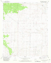 Cowboy Mesa NW New Mexico Historical topographic map, 1:24000 scale, 7.5 X 7.5 Minute, Year 1981