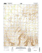 Coyote Canyon New Mexico Current topographic map, 1:24000 scale, 7.5 X 7.5 Minute, Year 2013 from New Mexico Map Store