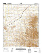 Cub Mountain New Mexico Current topographic map, 1:24000 scale, 7.5 X 7.5 Minute, Year 2013 from New Mexico Map Store