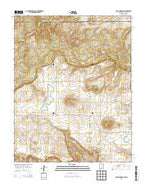Dale Mountain New Mexico Current topographic map, 1:24000 scale, 7.5 X 7.5 Minute, Year 2013 from New Mexico Map Store