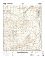 Dayton New Mexico Current topographic map, 1:24000 scale, 7.5 X 7.5 Minute, Year 2017 from New Mexico Maps Store