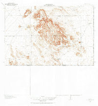Dog Mountains New Mexico Historical topographic map, 1:62500 scale, 15 X 15 Minute, Year 1918