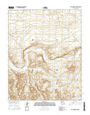 East of Great Bend New Mexico Current topographic map, 1:24000 scale, 7.5 X 7.5 Minute, Year 2017 from New Mexico Maps Store