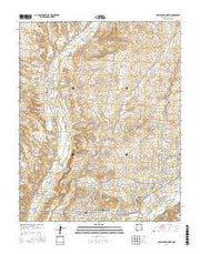 Farmington North New Mexico Current topographic map, 1:24000 scale, 7.5 X 7.5 Minute, Year 2017 from New Mexico Maps Store