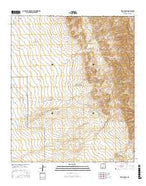 Fleck Draw New Mexico Current topographic map, 1:24000 scale, 7.5 X 7.5 Minute, Year 2017 from New Mexico Map Store