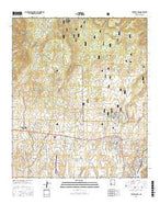 Fort Bayard New Mexico Current topographic map, 1:24000 scale, 7.5 X 7.5 Minute, Year 2017 from New Mexico Map Store