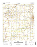 Foster Lake New Mexico Current topographic map, 1:24000 scale, 7.5 X 7.5 Minute, Year 2017 from New Mexico Map Store