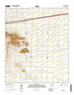 Gage New Mexico Current topographic map, 1:24000 scale, 7.5 X 7.5 Minute, Year 2017 from New Mexico Map Store