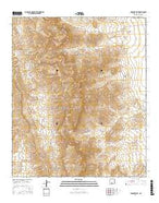 Gardner Peak New Mexico Current topographic map, 1:24000 scale, 7.5 X 7.5 Minute, Year 2017 from New Mexico Map Store