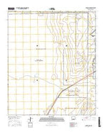 Garton Lake New Mexico Current topographic map, 1:24000 scale, 7.5 X 7.5 Minute, Year 2017 from New Mexico Map Store