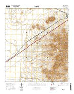 Gary New Mexico Current topographic map, 1:24000 scale, 7.5 X 7.5 Minute, Year 2017 from New Mexico Map Store