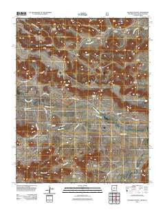Goodson School New Mexico Historical topographic map, 1:24000 scale, 7.5 X 7.5 Minute, Year 2011