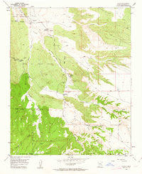 Hagan New Mexico Historical topographic map, 1:24000 scale, 7.5 X 7.5 Minute, Year 1954