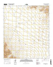 Hatchet Ranch New Mexico Current topographic map, 1:24000 scale, 7.5 X 7.5 Minute, Year 2017 from New Mexico Maps Store