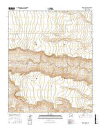 Horney Ranch New Mexico Current topographic map, 1:24000 scale, 7.5 X 7.5 Minute, Year 2017 from New Mexico Map Store