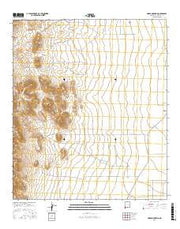 Horse Mountain New Mexico Current topographic map, 1:24000 scale, 7.5 X 7.5 Minute, Year 2017 from New Mexico Maps Store
