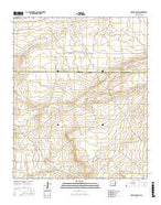 Howell Ranch New Mexico Current topographic map, 1:24000 scale, 7.5 X 7.5 Minute, Year 2017 from New Mexico Map Store