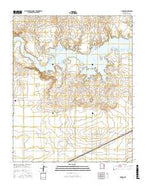 Hudson New Mexico Current topographic map, 1:24000 scale, 7.5 X 7.5 Minute, Year 2017 from New Mexico Map Store