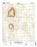 Kilbourne Hole New Mexico Current topographic map, 1:24000 scale, 7.5 X 7.5 Minute, Year 2017 from New Mexico Map Store