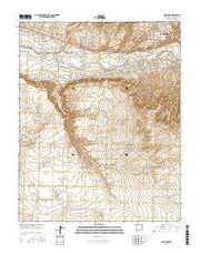 Kirtland New Mexico Current topographic map, 1:24000 scale, 7.5 X 7.5 Minute, Year 2017 from New Mexico Maps Store