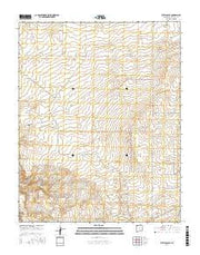Kirtland SE New Mexico Current topographic map, 1:24000 scale, 7.5 X 7.5 Minute, Year 2017 from New Mexico Maps Store