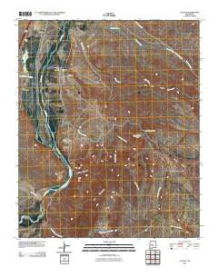 La Joya New Mexico Historical topographic map, 1:24000 scale, 7.5 X 7.5 Minute, Year 2010