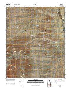 La Joya NW New Mexico Historical topographic map, 1:24000 scale, 7.5 X 7.5 Minute, Year 2010