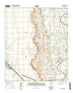 La Union New Mexico Current topographic map, 1:24000 scale, 7.5 X 7.5 Minute, Year 2017 from New Mexico Map Store