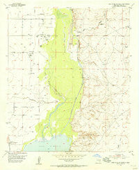Lake Mc Millan North New Mexico Historical topographic map, 1:24000 scale, 7.5 X 7.5 Minute, Year 1955