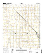 Lanark New Mexico Current topographic map, 1:24000 scale, 7.5 X 7.5 Minute, Year 2017 from New Mexico Map Store