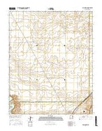 Logan North New Mexico Current topographic map, 1:24000 scale, 7.5 X 7.5 Minute, Year 2017 from New Mexico Map Store