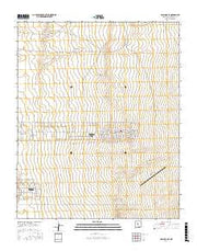 Los Lunas SE New Mexico Current topographic map, 1:24000 scale, 7.5 X 7.5 Minute, Year 2017 from New Mexico Maps Store