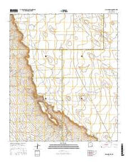 Maljamar NE New Mexico Current topographic map, 1:24000 scale, 7.5 X 7.5 Minute, Year 2017 from New Mexico Maps Store
