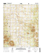 Mangas New Mexico Current topographic map, 1:24000 scale, 7.5 X 7.5 Minute, Year 2017 from New Mexico Map Store