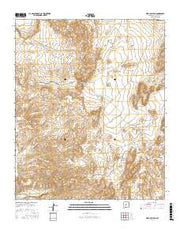 Mesa Del Yeso New Mexico Current topographic map, 1:24000 scale, 7.5 X 7.5 Minute, Year 2017 from New Mexico Maps Store