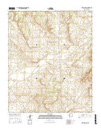 Mesita De Yeso New Mexico Current topographic map, 1:24000 scale, 7.5 X 7.5 Minute, Year 2017 from New Mexico Map Store