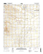 Moriarty South New Mexico Current topographic map, 1:24000 scale, 7.5 X 7.5 Minute, Year 2017 from New Mexico Map Store