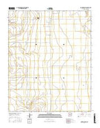 Mountainair NE New Mexico Current topographic map, 1:24000 scale, 7.5 X 7.5 Minute, Year 2017 from New Mexico Map Store
