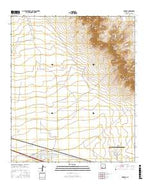 Myndus New Mexico Current topographic map, 1:24000 scale, 7.5 X 7.5 Minute, Year 2017 from New Mexico Map Store