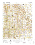Nicoll Lake New Mexico Current topographic map, 1:24000 scale, 7.5 X 7.5 Minute, Year 2017 from New Mexico Map Store
