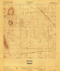 Noria New Mexico Historical topographic map, 1:62500 scale, 15 X 15 Minute, Year 1918