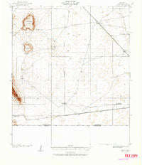 Noria New Mexico Historical topographic map, 1:62500 scale, 15 X 15 Minute, Year 1917