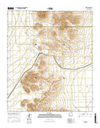Nutt New Mexico Current topographic map, 1:24000 scale, 7.5 X 7.5 Minute, Year 2017 from New Mexico Map Store
