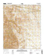 OK Canyon New Mexico Current topographic map, 1:24000 scale, 7.5 X 7.5 Minute, Year 2017 from New Mexico Map Store