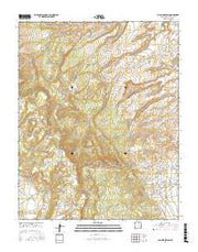 Old Pine Spring New Mexico Current topographic map, 1:24000 scale, 7.5 X 7.5 Minute, Year 2017 from New Mexico Maps Store