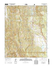 Osha Mountain New Mexico Current topographic map, 1:24000 scale, 7.5 X 7.5 Minute, Year 2013 from New Mexico Maps Store
